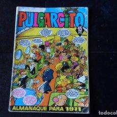 Tebeos: PULGARCITO ALMANAQUE 1971, CON SHERIFF KING, EDITORIAL BRUGUERA. Lote 133261902