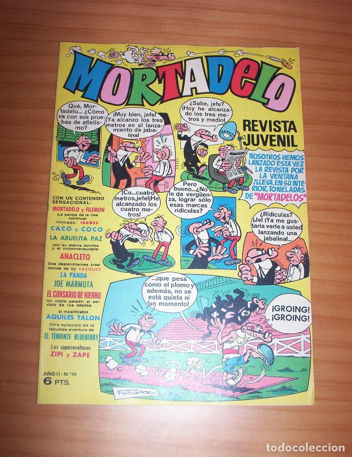 MORTADELO - NÚMERO 34 - AÑO 1971 (Tebeos y Comics - Bruguera - Mortadelo)