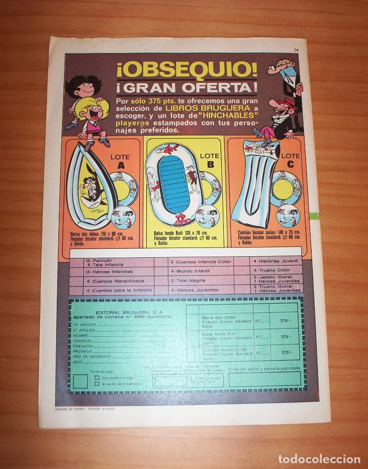 Tebeos: MORTADELO - NÚMERO 34 - AÑO 1971 - Foto 10 - 133387054