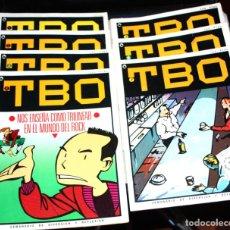 Tebeos: TBO DE BRUGUERA - COLECCION COMPLETA EN 7 EJEMPLARES - 1986. Lote 133408706
