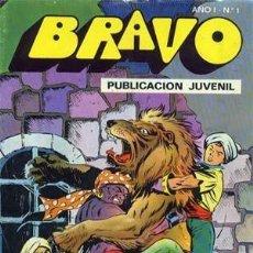 Tebeos: BRAVO, EL CACHORRO. COLECCION COMPLETA DE 41 NUMEROS. Lote 133495714