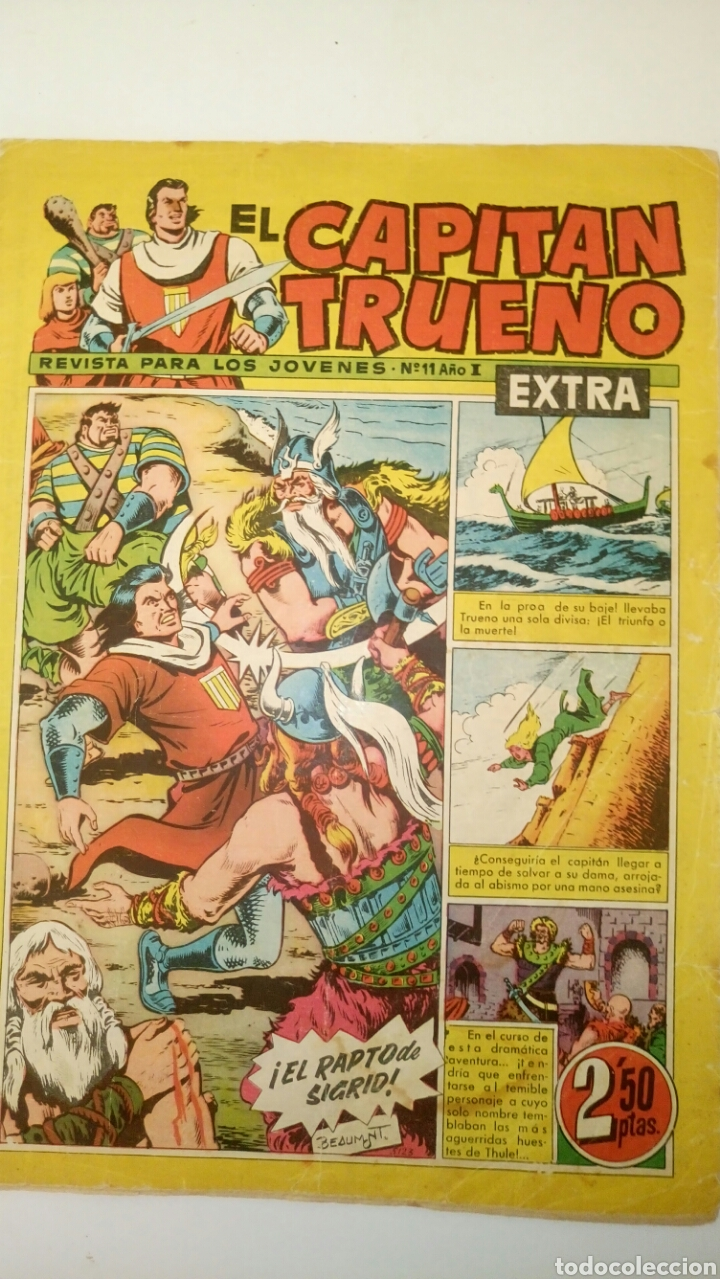 EL CAPITÁN TRUENO EXTRA, 11. ORIGINAL DE BRUGUERA. (Tebeos y Comics - Bruguera - Capitán Trueno)
