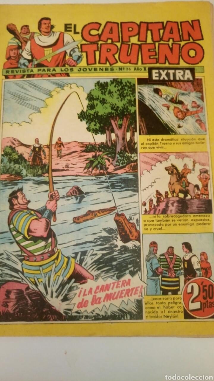 EL CAPITÁN TRUENO EXTRA, 26. ORIGINAL DE BRUGUERA. (Tebeos y Comics - Bruguera - Capitán Trueno)