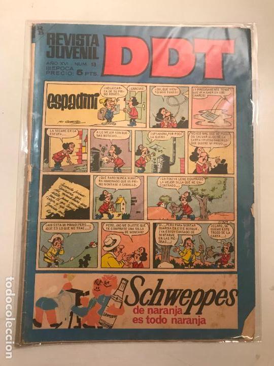 DDT 3ª EPOCA Nº 13. BRUGUERA 1967 (Tebeos y Comics - Bruguera - DDT)