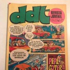 Tebeos: DDT 3ª EPOCA Nº 394. BRUGUERA 1967. Lote 133588638