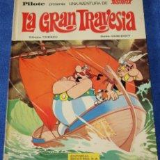 Tebeos: LA GRAN TRAVESÍA - ASTERIX - PILOTE - BRUGUERA - 1ª EDICIÓN (1975) . Lote 133670510