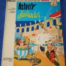 Tebeos: ASTERIX GLADIADOR - ASTERIX - PILOTE - BRUGUERA - 1ª EDICIÓN (1968). Lote 133670890
