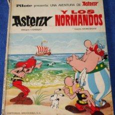 Tebeos: ASTERIX Y LOS NORMANDOS - ASTERIX - PILOTE - BRUGUERA - 1ª EDICIÓN (1969). Lote 133671010