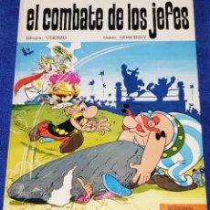 Tebeos: EL COMBATE DE LOS JEFES - ASTERIX - PILOTE - BRUGUERA - 1ª EDICIÓN (1969). Lote 133671286