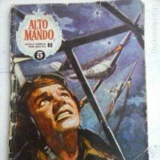 Tebeos: ALTO MANDO Nº 80 - 1966 IBEROMUNDIAL. Lote 133677906
