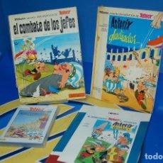 Tebeos: TRES TOMOS ASTERIX MÁS PELÍCULA DVD (PELÍCULA EN FRANCÉS). Lote 133678386
