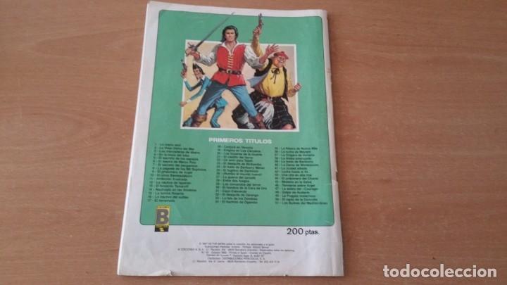 Tebeos: 31 comics EL CORSARIO DE HIERRO HISTORICA DEL N° 1 al 30 + 50 - Foto 4 - 125290155