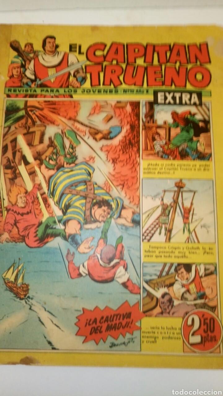 EL CAPITÁN TRUENO EXTRA, 10. ORIGINAL DE BRUGUERA. (Tebeos y Comics - Bruguera - Capitán Trueno)