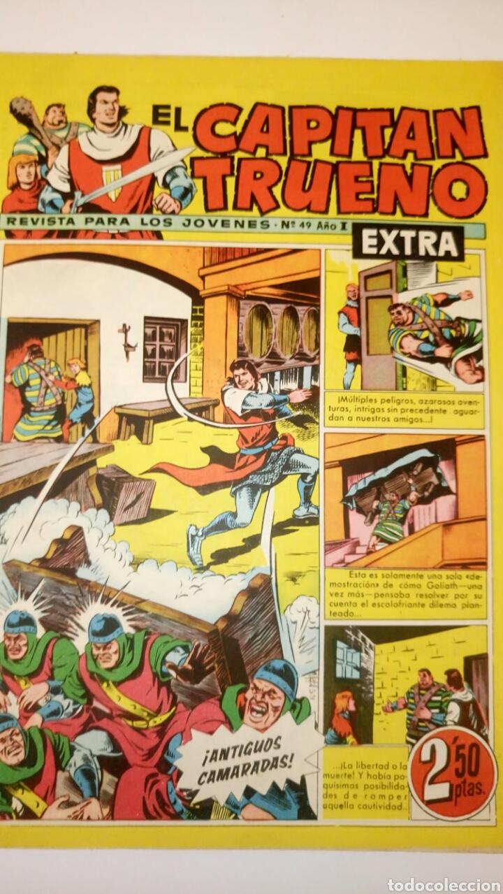 EL CAPITÁN TRUENO EXTRA. 49. ORIGINAL DE BRUGUERA. (Tebeos y Comics - Bruguera - Capitán Trueno)