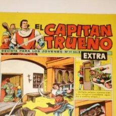 Tebeos: EL CAPITÁN TRUENO EXTRA. 49. ORIGINAL DE BRUGUERA.. Lote 183251905