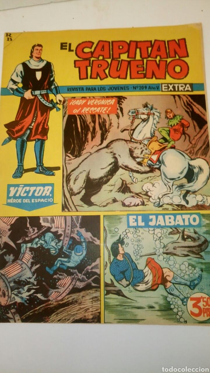 EL CAPITÁN TRUENO EXTRA, 209. ORIGINAL DE BRUGUERA. (Tebeos y Comics - Bruguera - Capitán Trueno)