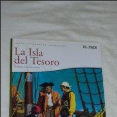 Tebeos: LA ISLA DEL TESORO JOYAS LITERARIAS JUVENILES. REEDICIÓN DE EL PAÍS. AÑO 2010.. Lote 133733054