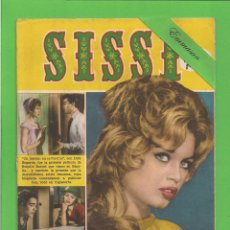 Tebeos: SISSI Nº 118 - REVISTA FEMENINA - BRIGITTE BARDOT. - BRUGUERA. (1960).. Lote 133815238