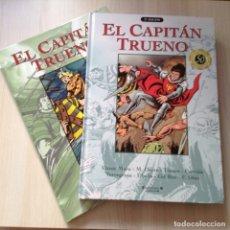 Tebeos: CAPITÁN TRUENO EDICIONES B 2 TOMOS. Lote 245073540