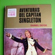 Tebeos: TOMO 2, SERIE GRANDES AVENTURAS. AVENTURAS DEL CAPITÁN SINGLETON DE DANIEL DEFOE. ED. BRUGUERA 1975. Lote 133963510