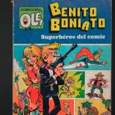 Tebeos: COLECCION OLE Nº 1 BENITO BONIATO. FRESNO'S 1984. Lote 133990782