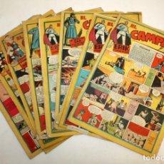Tebeos: EL CAMPEON EDITORIAL BRUGUERA (1948) 9 NUMEROS MUY RARO Y ESCASO.. Lote 134006850