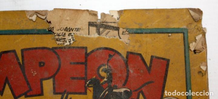 Tebeos: EL CAMPEON EDITORIAL BRUGUERA (1948) 9 NUMEROS MUY RARO Y ESCASO. - Foto 6 - 134006850