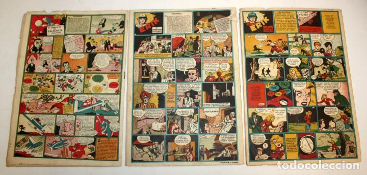 Tebeos: EL CAMPEON EDITORIAL BRUGUERA (1948) 9 NUMEROS MUY RARO Y ESCASO. - Foto 7 - 134006850