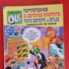 Tebeos: COLECCIÓN OLE Nº 109 COMBINADO DE RISAS ROMPETECHOS SACARINO PEPE GOTERA Y OTILIO. Lote 134072974