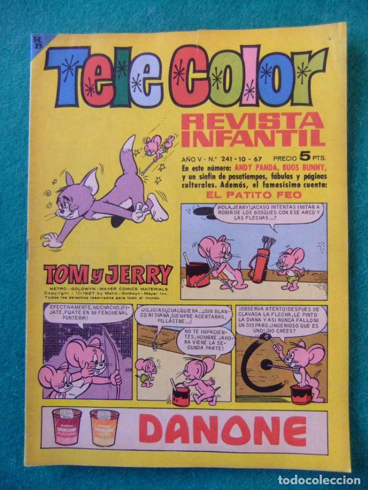 TELE COLOR Nº 241 EDITORIAL BRUGUERA (Tebeos y Comics - Bruguera - Tele Color)