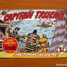 Tebeos - El Capitán Trueno, nº 318, Inesperado encuentro - Editorial Bruguera 1956 - 134201030