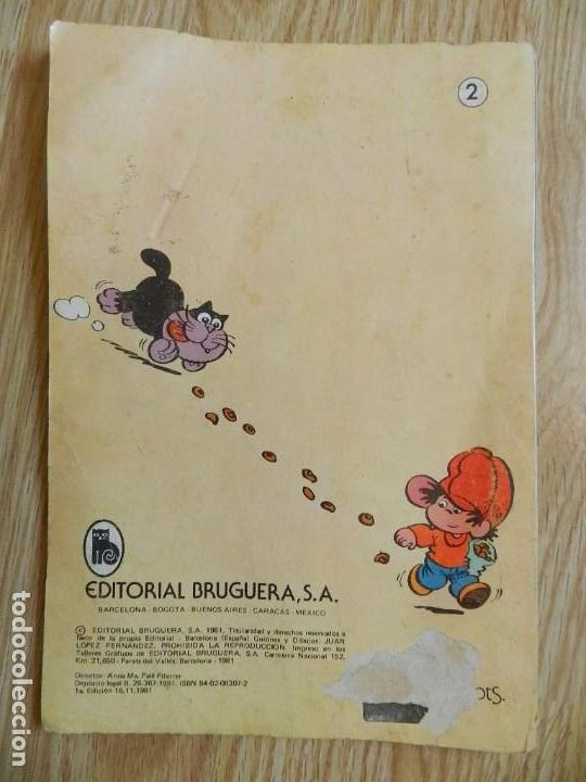 Tebeos: Pulgarcito En el país de la fantasía colección OLE 1ª edición 1981 Bruguera de JAN Super Lopez - Foto 3 - 134206726