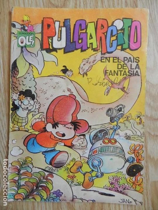 PULGARCITO EN EL PAÍS DE LA FANTASÍA COLECCIÓN OLE 1ª EDICIÓN 1981 BRUGUERA DE JAN SUPER LOPEZ (Tebeos y Comics - Bruguera - Pulgarcito)