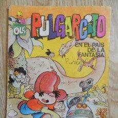 Tebeos: PULGARCITO EN EL PAÍS DE LA FANTASÍA COLECCIÓN OLE 1ª EDICIÓN 1981 BRUGUERA DE JAN SUPER LOPEZ. Lote 134206726