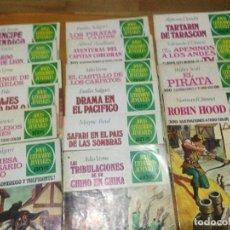 Tebeos: JOYAS LITERARIAS JUVENILES BRUGUERA - LOTE 17 NÚMEROS. Lote 134218530