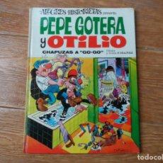 Tebeos: ALEGRES HISTORIETAS Nº 2 PEPE GOTERA Y OTILIO EDITORIAL BRUGUERA 1970 TAPA DURA . Lote 134348078