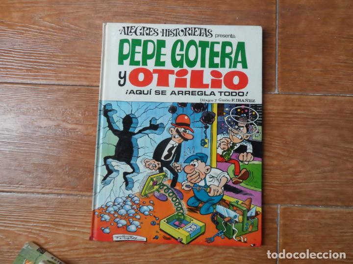 ALEGRES HISTORIETAS Nº 5 PEPE GOTERA Y OTILIO EDITORIAL BRUGUERA 1970 TAPA DURA (Tebeos y Comics - Bruguera - Otros)