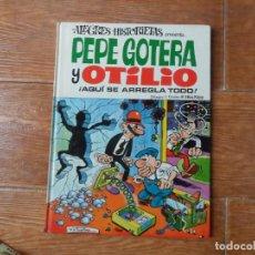 Tebeos: ALEGRES HISTORIETAS Nº 5 PEPE GOTERA Y OTILIO EDITORIAL BRUGUERA 1970 TAPA DURA . Lote 134348154