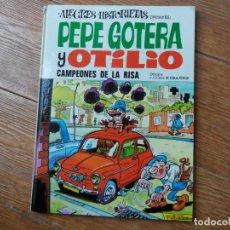 Tebeos: ALEGRES HISTORIETAS Nº 14 PEPE GOTERA Y OTILIO EDITORIAL BRUGUERA 1970 TAPA DURA . Lote 134348306