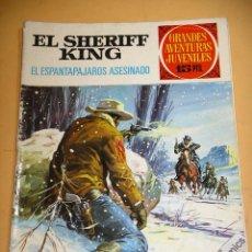 Tebeos: EL SHERIFF KING, Nº 40, EL ESPANTAPAJAROS ASESINADO, ED. BRUGUERA, AÑO 1973, ERCOM. Lote 134576462