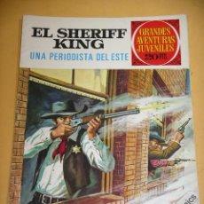 Tebeos: EL SHERIFF KING, Nº 31, UNA PERIODISTA DEL ESTE, ED. BRUGUERA, AÑO 1975, ERCOM. Lote 134578218