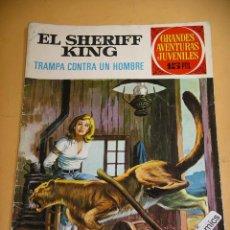 Tebeos: EL SHERIFF KING, Nº 28, TRAMPA CONTRA UN HOMBRE, ED. BRUGUERA, AÑO 1972, MUY DIFICIL!, ERCOM. Lote 134584946