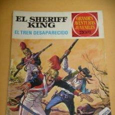 Tebeos: EL SHERIFF KING, Nº 6, EL TREN DESAPARECIDO, ED. BRUGUERA, AÑO 1975, ERCOM. Lote 134588574