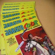 Tebeos: JABATO COLOR ALBUM, LOTE CON LOS Nº 1 2 3 4 5 6 7 Y 8, BRUGUERA, 1ª ÉPOCA AÑO 1970, AMARILLO, 7A. Lote 134602014