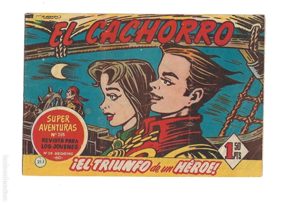 Tebeos: El Cachorro Año 1951 Colección Completa son 213 Tebeos + Almanaque para 1957 son Originales - Foto 10 - 134456154