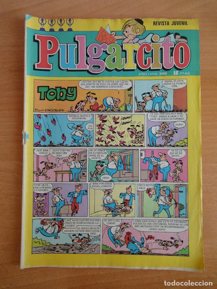 PULGARCITO. REVISTA JUVENIL. NUM. 2419 (BRUGUERA 1977) (Tebeos y Comics - Bruguera - Pulgarcito)