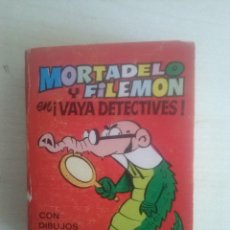 Tebeos: MINI INFANCIA MORTADELO Y FILEMON ¡VAYA DETECTIVES! 2ª EDICION 1975. Lote 134838938