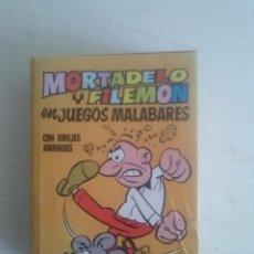 Tebeos: MINI INFANCIA MORTADELO Y FILEMON JUEGOS MALABARES 2ª EDICION 1975. Lote 134839110