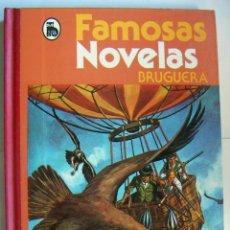 Tebeos: FAMOSAS NOVELAS BRUGUERA TOMO V 4ª EDICION. Lote 134893122