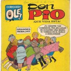 Tebeos: OLÉ. Nº 6. DON PIO. 1ª EDICIÓN. BRUGUERA.(C/A40). Lote 134893802